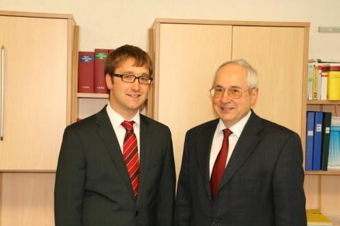Tobias und Horst Eltschkner
